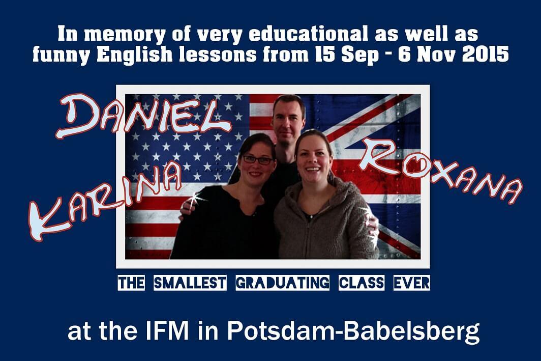 blog-Englischkurs Collage