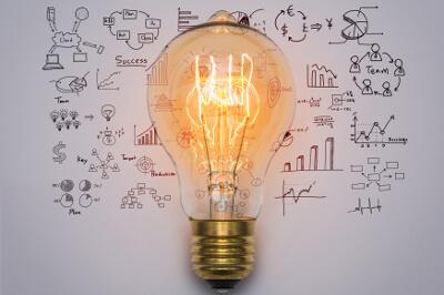 Bei Ideen und Innovationen denken wir oft an eine Glühbirne