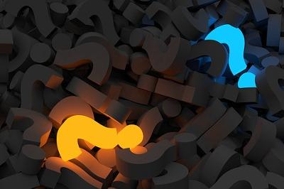 Beim Online-Texten geht es um Mehrwert, also die Fragezeichen in den Köpfen unserer Kunden zu beantworten