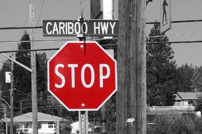 """Manchmal ist es wichtig """"Stopp"""" zu sagen und anzuhalten"""