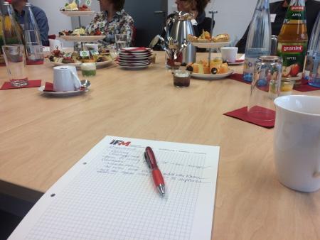 """Viele hilfreiche Informationen für den Unternehmensalltag gab es beim IFM-Wissensbrunch """"DSGVO"""""""