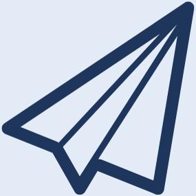 Grafik  eines Papierfliegers