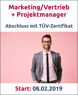 Marketing/Vertrieb + Projektmanagemer Bild
