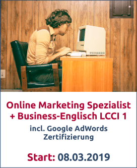 Online Marketing Business Englisch Bild