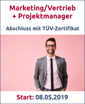 Marketing Vertrieb Projektmanagement Bild