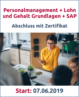 Personalmanagement, Lohn, SAP Bild