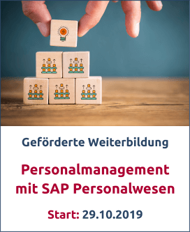 Personalmanagement mit SAP Bild