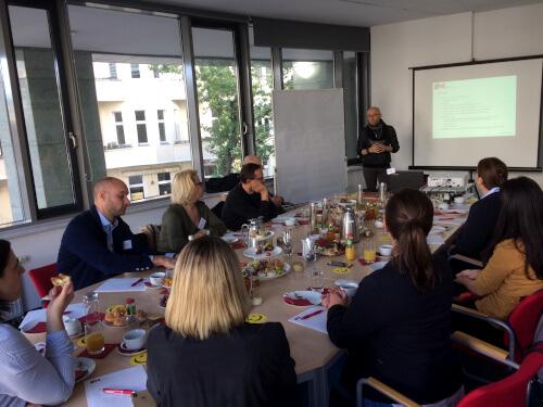 Wissensbrunch-Teilnehmer beim IFM in Berlin