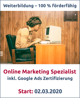 Online Marketing Spezialist Bild