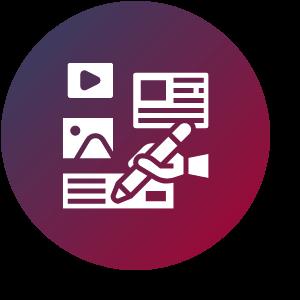 Icon für Content Creation