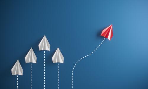 Papierflieger wechselt den Kurs in Richtung Erfolg